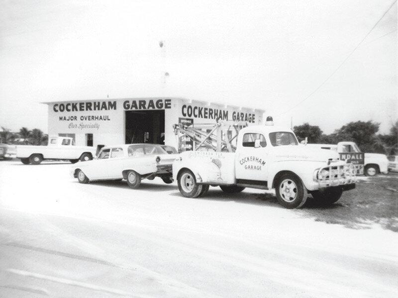 Cockerham Garage in Islamorada Florida Keys