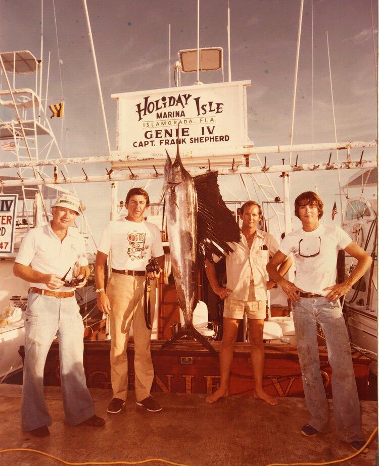 Captain Mark Cockerham Champion Fisherman - Holiday Isle Marina