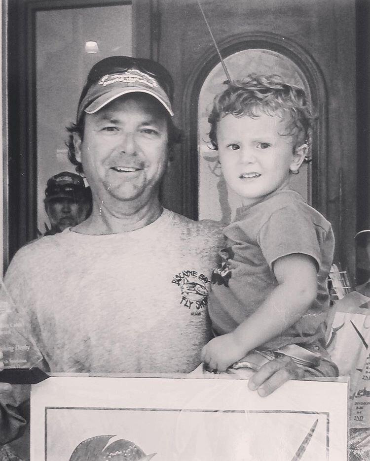 Asher and Mark Cockerham, champion fisherman