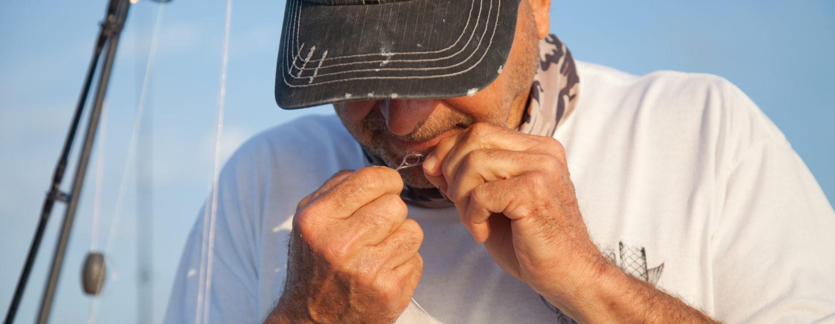 World Record Holder Angler and Fishing Guide Mark Cockerham